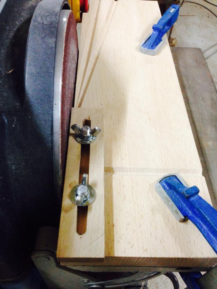 Taille Fût avec butée de réglage + angle 90°