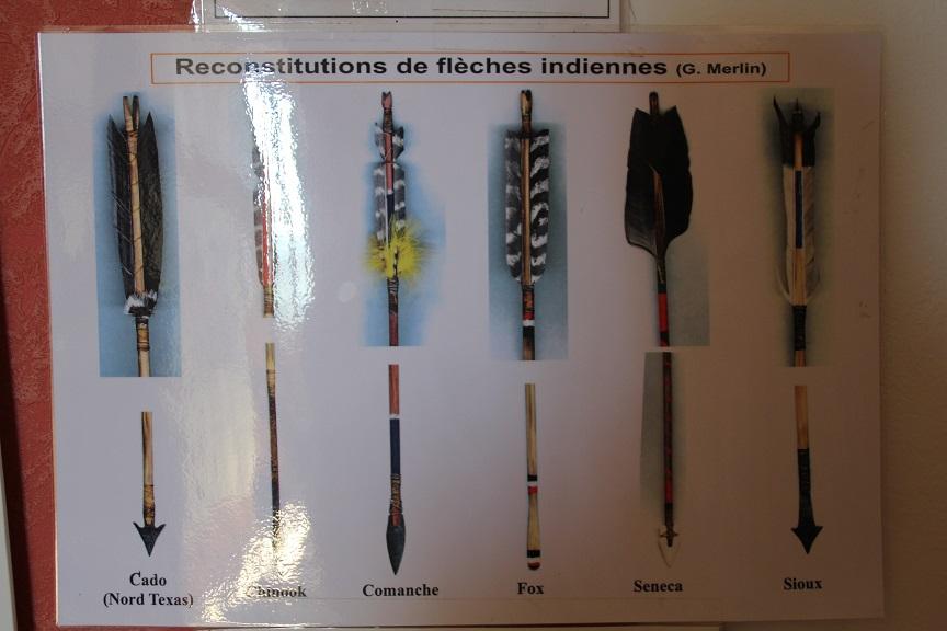 3 Reconstitution de Flèches Indiennes