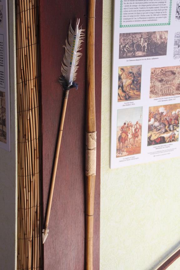 7 Reconstitution d'Arc et Flèche Amérindienne