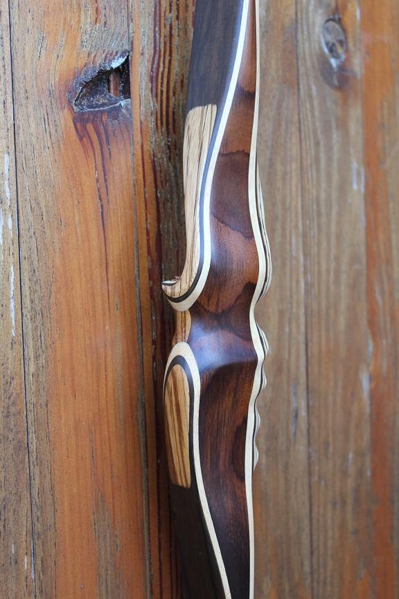 1 Poignée Palissandre Dos Santos Sans Fenêtre